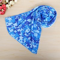 100pcs lot Cold Towel Summer Sport Ice Cooling Towel Double ...