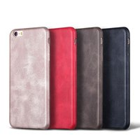 For iphone 7 7Plus Luxury Vintage Retro Business Leather Ult...