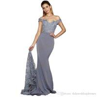 Mermaid Evening Dress Long 2017 New fashion Red Banquet Part...