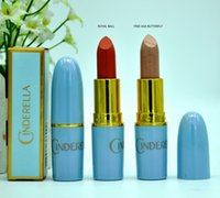 HOT Makeup Cinderella Lustre Lipstick 3g 2 color DHL free sh...