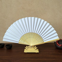 DIY Paper Fan Wooden Openwork Folding Fan (Set of 60) For DI...