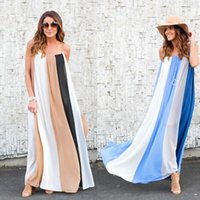 hot sale summer new style sexy stripe color matching condole...