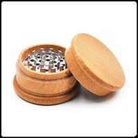 Nuevas amoladoras de madera Amoladoras de hierbas Amoladoras de tabaco de hierbas de madera 63 mm VS Afiladoras de piedras afiladas