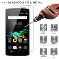 Wholesale- 2. 5D 0. 26mm 9H Premium Tempered Glass For HOMTOM ...