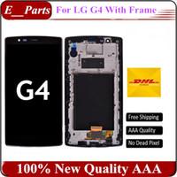 Original AAA grade pour LG G4 H810 VS999 LCD + numériseur écran tactile avec remplacement de cadre rapide DHL expédition
