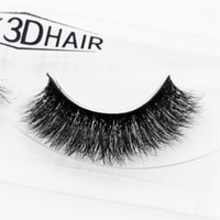 3D Mink Eyelashes Natural Extension Long Cross Thick Mink La...