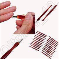 Cuticle Trimmer Pusher Remover Manicure Pedicure Cuidados Nail File Nail Beleza Trimming Arquivo Ferramenta CCA5526 5000pcs
