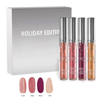 2017 Kylie 4PC HOLIDAY Edition KIT MATTE LIQUID LIPSTICKS GL...