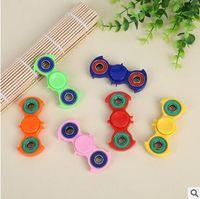 8 colores Batman HandSpinner dedo dedos espirales Gyro Torqbar Fidget Spinner juguetes de descompresión con la caja al por menor CCA5941 200pcs