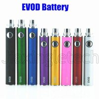 Electronic Cigarette Evod Battery 650mah 900mah 1100mah 1300mah Match Evod Mt3 Tank Ce4 Atomizer 510 Ego T Evod Twist Battery