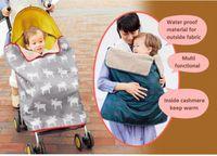 High quality kids stroller blanket Baby swaddling quilt Chil...