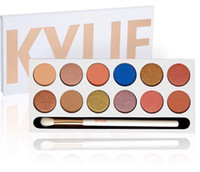 Kylie Royal Peach Eyeshadow Palette with pen 12 colors Kylie...