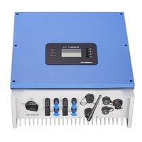 Два инвертора MPPT Trackers Инвертор 6kw 230VAC 50/60 HZ Высокоэффективный инвертор, подключенный к солнечной энергетической системе