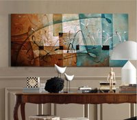 Чистая Ручная роспись Современные декора стены абстрактного искусства картина маслом на высокого качества Canvas.Multi изготовленные по индивидуальным размерам 8hk