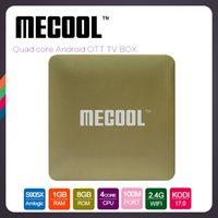 Quad core S905X Mecool HM8 Android OTT TV Box 1GB Ram 8GB RO...
