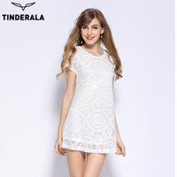 TINDERALA summer prom dress 2017 women lace party club t shi...