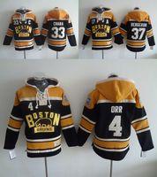 2017 Mens Boston Bruins Ice Hockey Hoodies Jerseys #4 Bobby ...