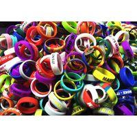 Cheapest Personalized silicone bracelet 500pcs free customiz...