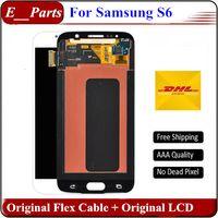 Pour Samsung Galaxy S6 LCD Grade Originale AAA Aucun Pixels G920 G920F G920A G920T lcd Écran Écran tactile Digitizer Assemblée