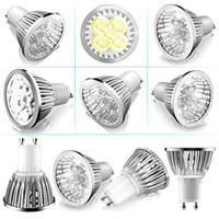 (10- Pack) 4- Watt Gu10 Super Bright LED Light Bulbs White Lig...