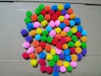 500pcs bag 2cm Multi- color Pom Poms Kids DIY Creative Craft ...
