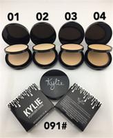 Vente chaude de la nouvelle poudre de visage de jenner de kylie 4 couleurs DHL Livraison gratuite + CADEAU