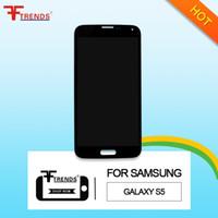 Numériseur d'écran tactile de l'affichage à cristaux liquides d'original d'A +++ de haute qualité pour la galaxie S5 de Samsung G900 G900 G900 G900 G900 G900 G900 G4 G900