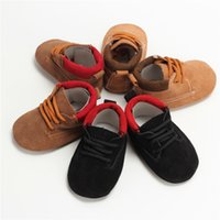 New Arrival Baby Walking Shoes Genuine Nubuck Leather Breath...