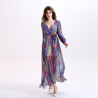 Maxi Dresses Spring of The New Europe and The United States ...