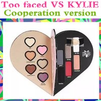 wholesale eyeshadow New Too love heart eyeshdow 6 Color Hear...