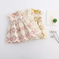 Everweekend New Girls Embroidered Organza Tutu Dress Puff Sl...