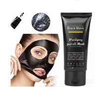 2017 El purificador de limpieza profundo vendedor caliente 50ml del poro de la máscara del negro de SHILLS que purifica la máscara facial de la espinilla de la máscara del Peel-off libera el envío de DHL