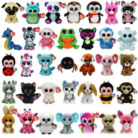 2017 Ty Beanie Boos Plush Stuffed Toys Wholesale Big Eyes An...
