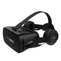 Nouvelles arrivées!! VR-ICI Casque de lunettes de réalité virtuelle VR Casque Casque de lunettes 3D Google Cardboard 2.0