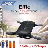 La nouvelle génération originale de JJRC H37 6-Axe Gyro ELFIE WIFI FPV 720P caméra HD Quadcopter pliable G-capteur Drone Selfly RC RM7429 VS H37