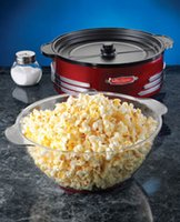practical Red small Electric Household Stirring Popcorn Make...