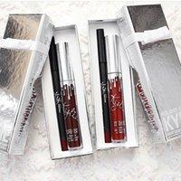 На складе Кайли Lip Kit Vixen Веселого отдыха Выпуск 1 Matte Lipstick Liquid и 1 Карандаш для Губ Vixen Merry Christmas 24 комплектов