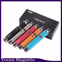 Yocan Magneto Kit 1100mAh Batterie Capuchon magnétique Capuchon en silicone en céramique Cire en céramique Stylo à vapeur clone 0268036
