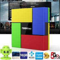 T95K PRO Amlogic S912 Android TV box Octa Core KODI Dual Ban...