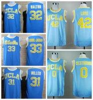 2017 UCLA Bruins College Jerseys Uniforms 42 Kevin Love Shir...