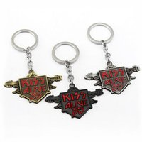 30PCS Lot Classic American Rock Band Kiss Alive 35 logo keyc...