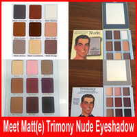 The Brand Meet Matt(e) Trimony Nude Eyeshadow 9 colors Palet...