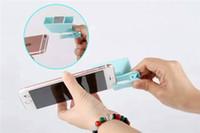 Effets 3D Lens 3D Externe Téléphone Mobile Format d'objectif Format de gauche et de droite Déclencheur à prise de vue grand angle tridimensionnel avec paquet