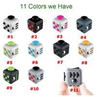 2017 Nouveaux jouets de nouveauté Fidget Cube premier ans américain de décompression anxie Jouets Vente en gros avec Retail Box DHL Livraison gratuite