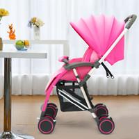 Hot sell baby stroller Light benken baby car Anti shock four...