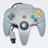 20 pièces Nouveau pour le jeu N64 USB jeu de contrôleur Joypad joystick Gaming pour N64 PC gris