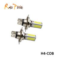 Car- styling H4 COB Fog Light Bulb DRL Driving Headlight 12V ...