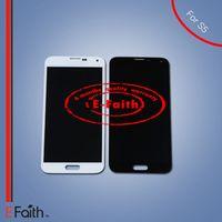 Pour Samsung Galaxy S5 i9600 écran LCD avec écran tactile Digitizer Assemblée livraison gratuite