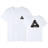 fashion skateboards classic triangle print mens t shirt for ...