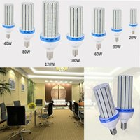 High Power E27 E39 E40 LED Corn light Bulbs 30w 40w 60w 80w ...